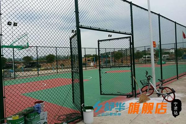 笼式篮球场