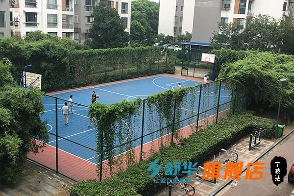宁波常青藤小区笼式篮球场