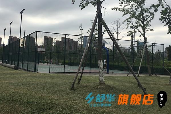 宁波鄞州体育休闲公园笼式篮球场