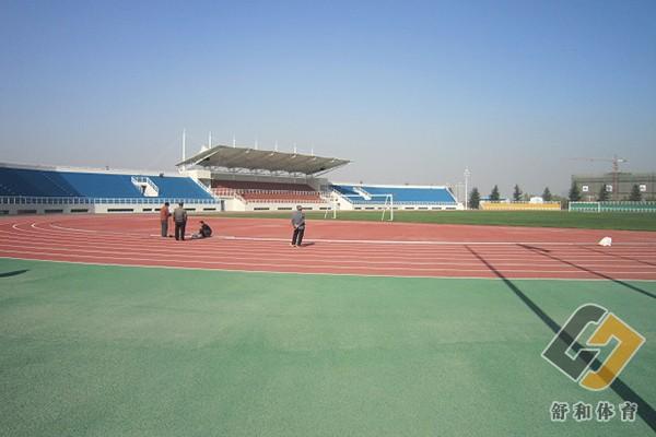 大学校园球场及塑胶跑道